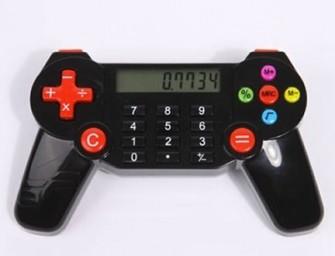 Make Math Fun with Retro Gaming Controller Calculator