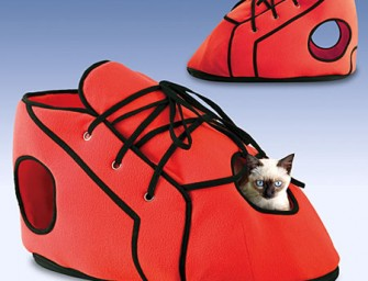 Fun for feline friends with the Red Shoe Playhouse
