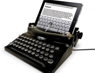 Spinning Hat Typescreen is an iPad Typewriter
