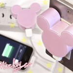 mickey ears usb charger2 150x150 Get Wooed by Disney Characters Cell Phone AC Adapters and More