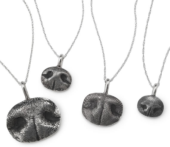 Immortalize your furry friends with Custom Pet Nose Necklaces.