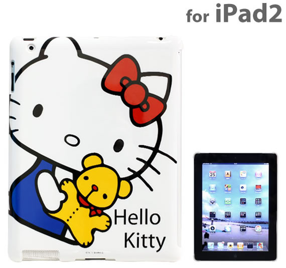 Protect your iPad cutely with the Hello Kitty hard cover