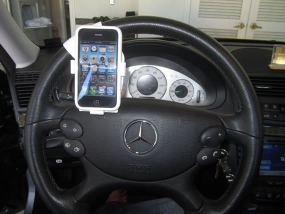 Steer Safe smartphone holders…like it or lump it!