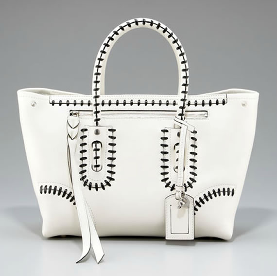 Classic: Alexander McQueen's Two-Tone Whipstitched Tote