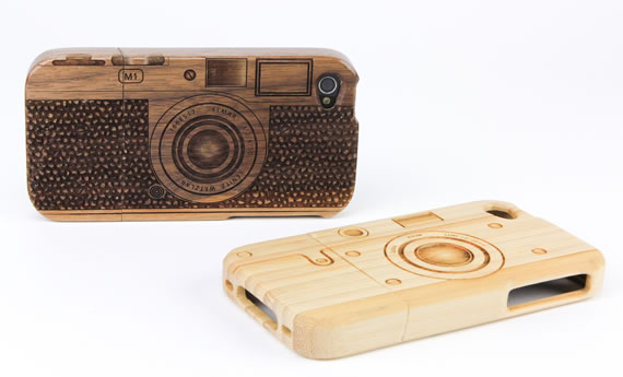 Wood-Camera-iPhone-4-Case-1