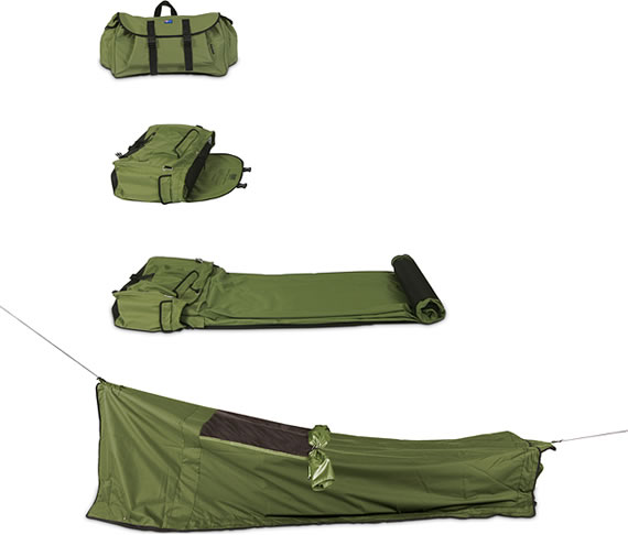 Backpack Bed is a good camping companion