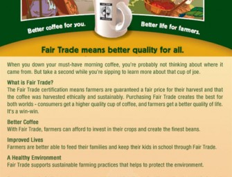 Fair Trade means better quality for all