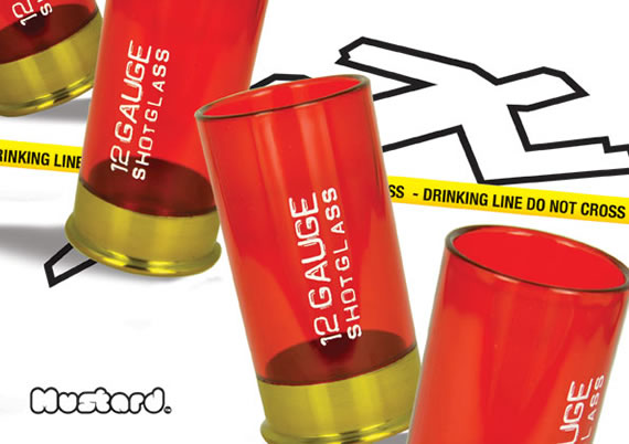 12 Gauge Shot Glass bring a bang to your party