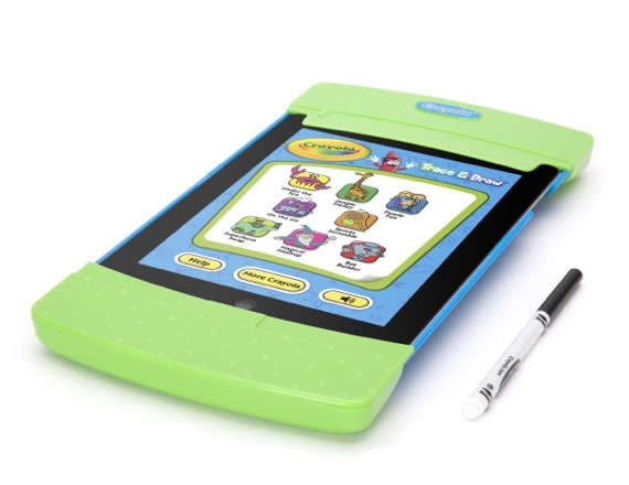 Crayola Trace and Draw iPad look-alike saves your gadget from your kids