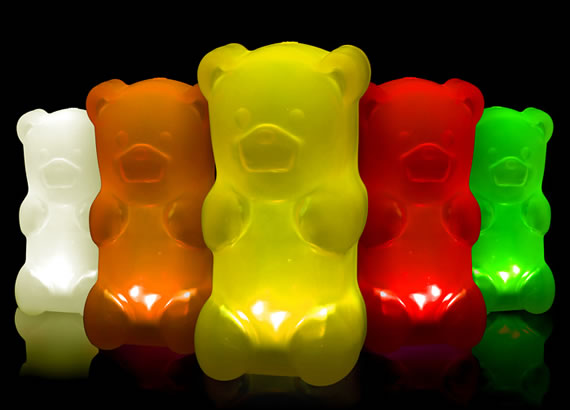 Gummy Bear Lamp deliciously light up your bedside