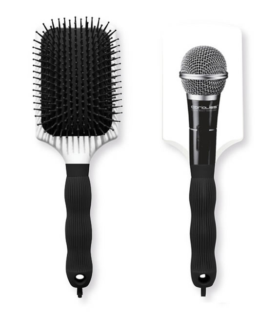 Turn into a rockstar with the MicBrush