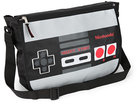 Nintendo Reversible Messenger Bag looks super cool and geeky