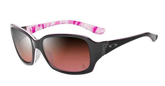 Oakley Discreet Breast Cancer Awareness Edition is fun and flirtatious