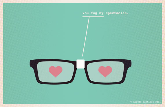 You Fog my Spectacles are fun and flirtatious