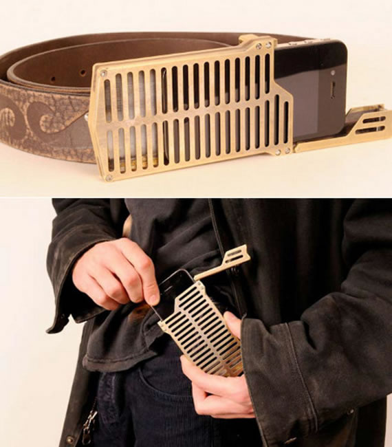 Forget your pants pocket as iPhone belt buckle holder is here