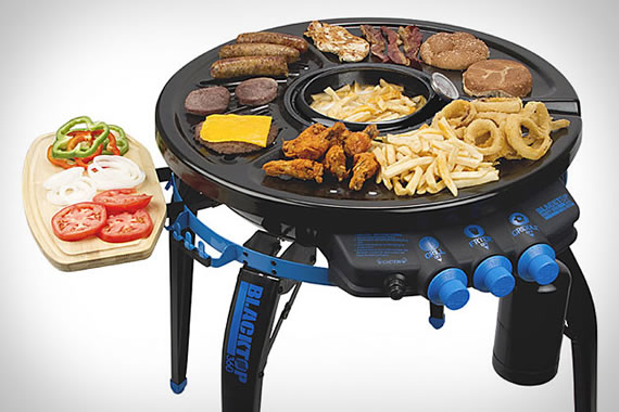 BlackTop 360 Grill Fryer is for the hungry hound