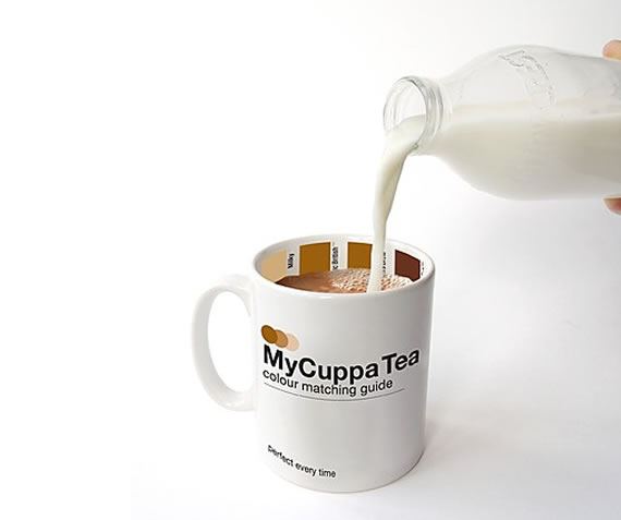 MyCuppa Pantone Tea Cup for the right amount of milk