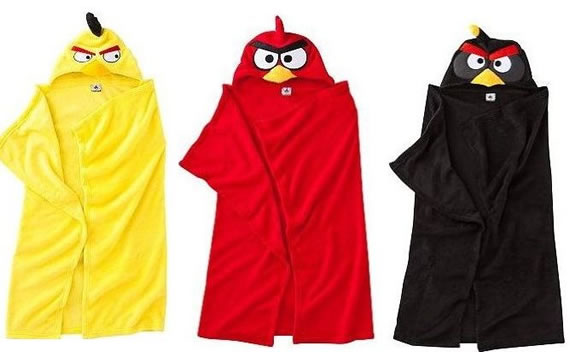Catch the exclusive Angry Birds fleece wrap blanket for your kids!