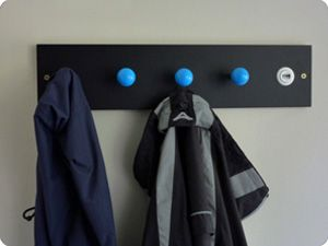 Customised hangUP Arcade coat hooks that are convenient and stylish