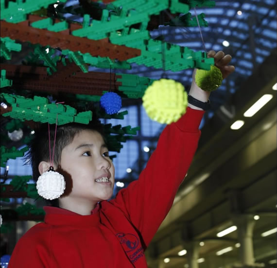 It's yet another Merry Christmas with world's largest LEGO Christmas tree breaking previous records