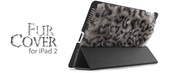 Add some wildness to your iPad with the Fur Cover for iPad 2 by ion