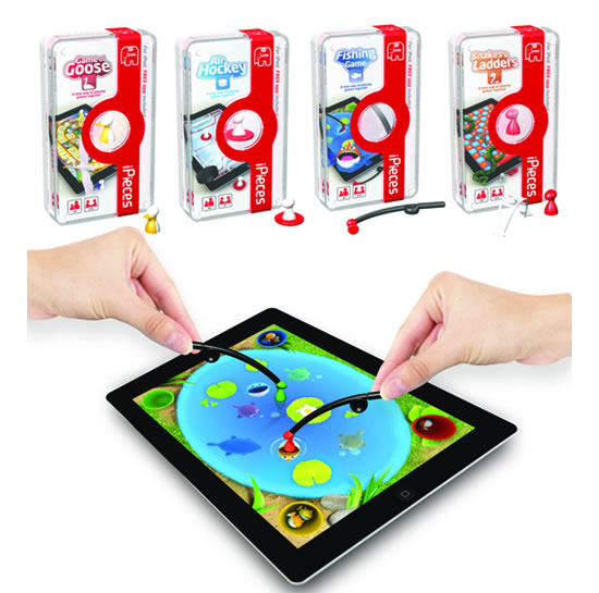 iPieces engages you with games on your iPad