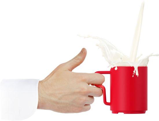 Kruzhkus mug concept by Art Lebedev lets you drink coffee in style