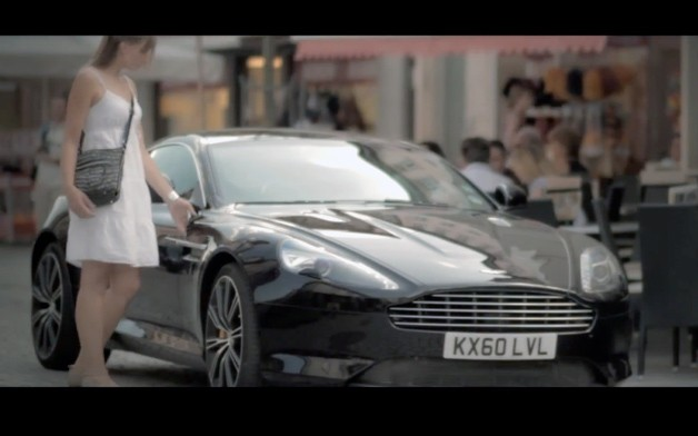 Aston Martin unveils its love for women and vice versa