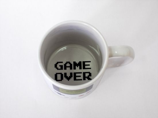 The Game Boy Coffee Mug by college student Tiago Goncalves