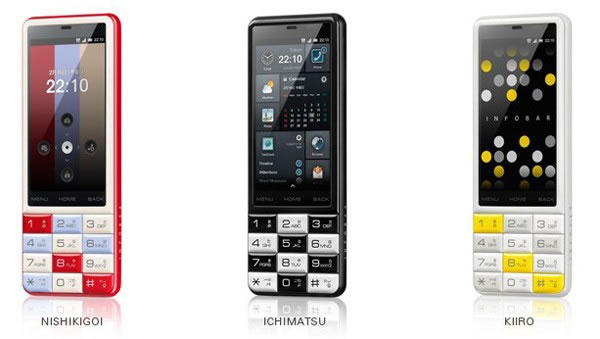 Infobar C01 smartphone launches in Japan