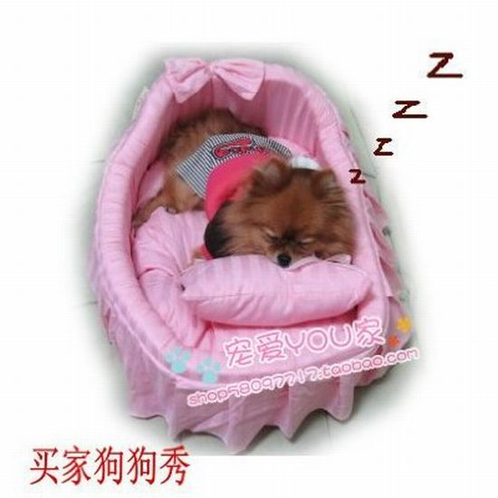 The Princess/prince Pet Dog Cat Handmade Bed/house + Pillow for your furry friend