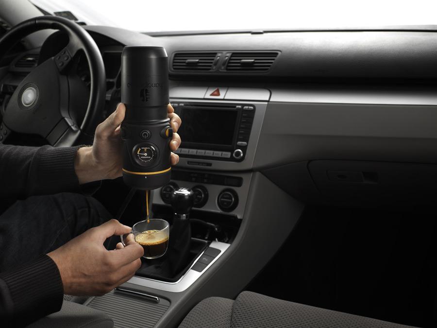 Handpresso Auto: The portable espresso machine for your car