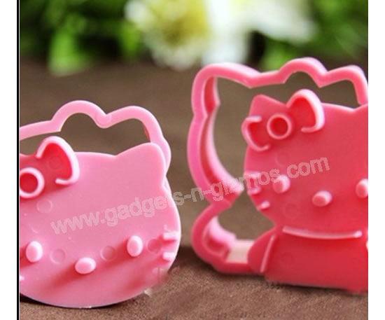 The 3D Hello Kitty Cookie Cutter Mold