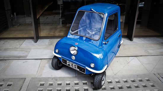 Limited edition Peel P50 and Peel Trident to be manufactured again: The world's smallest car