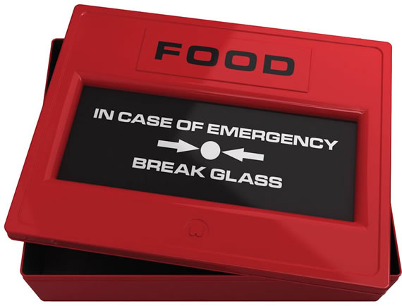 Kill your hunger with the Emergency Lunch Box