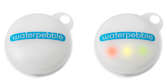 The Waterpebble: helps you shorten your showers, save the planet