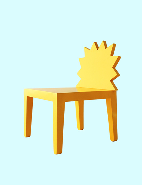 The Simpsons Chair from 56th Studio keeps the funny family close to you