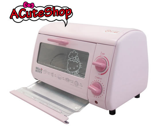 The Hello Kitty Oven Toaster Grill with Die-cut Mold: Kitchen cuteness