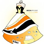 megaupload in fashion 150x150 Famous websites as dresses