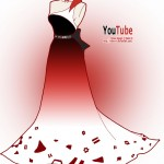 youtube in fashion 150x150 Famous websites as dresses