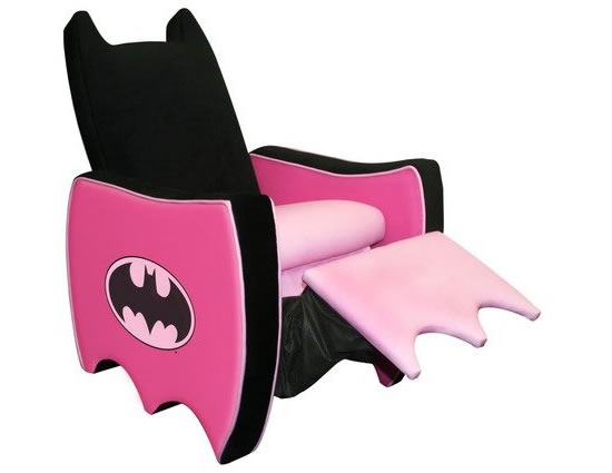 Batgirl recliner: Your little girl's superhero comfort
