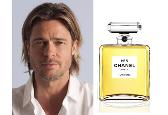 Brad Pitt will be the Boy No.1 for Chanel No. 5!