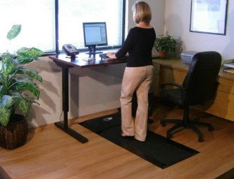 TreadDesk allows you to keep fit with a desk job