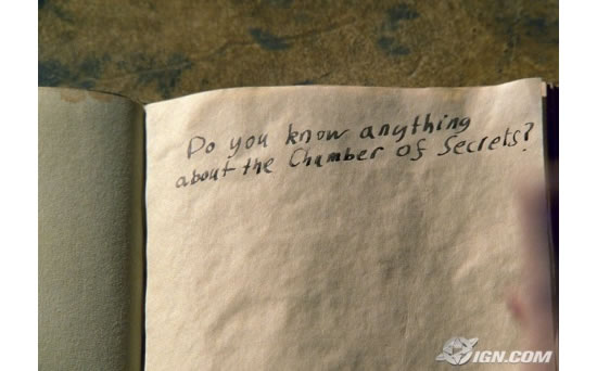 Harry Potter's diary gives rise to useful, self-writing blood paper