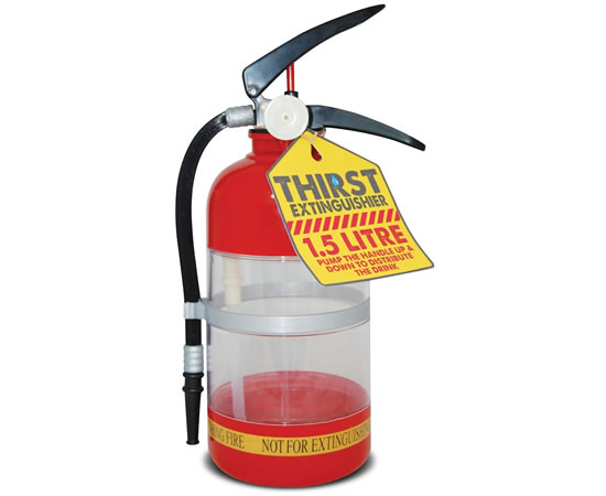 The Thirst Extinguisher: For all your beverage related emergencies
