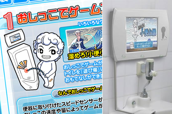 Sega Toylet: The urinal-mounted gaming system is now available