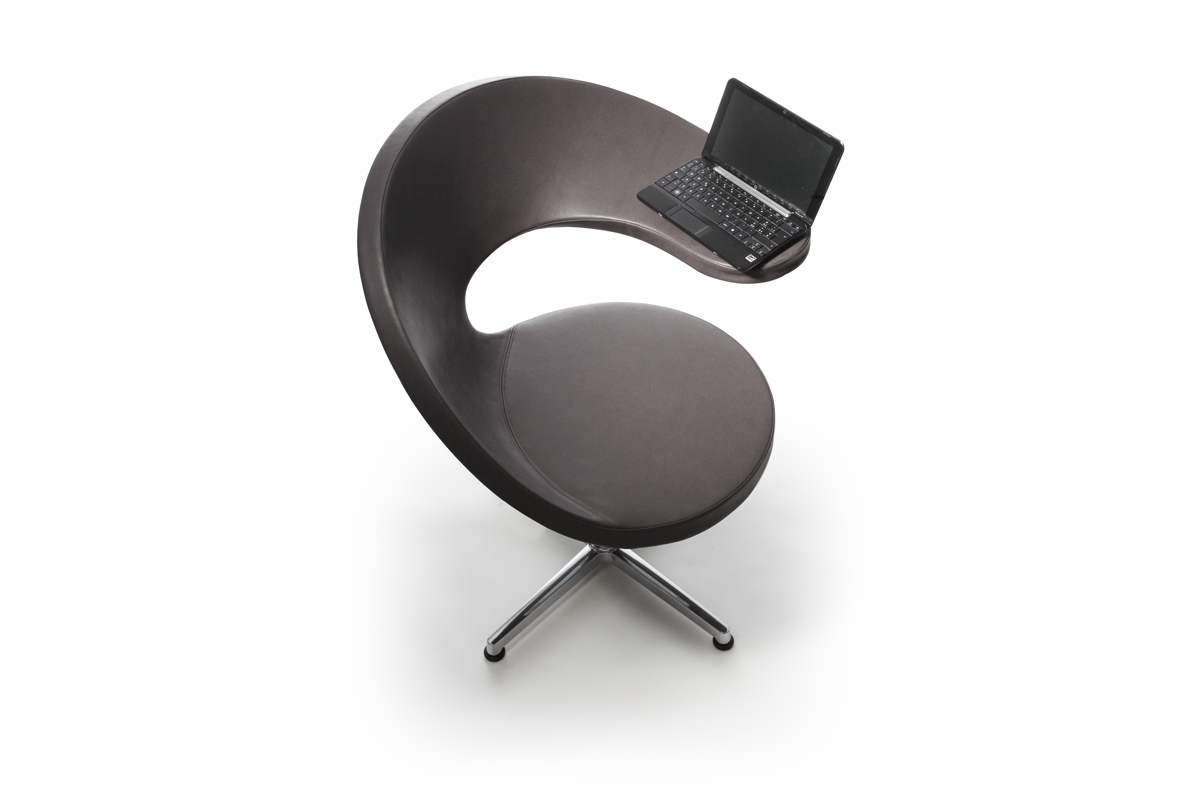 N@t: A stylish Netbook-armchair for your living space