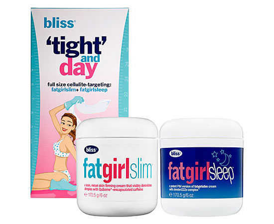 The 'Tight' And Day Cellulite-Targeting Set from Bliss tones your body 24 hours a day