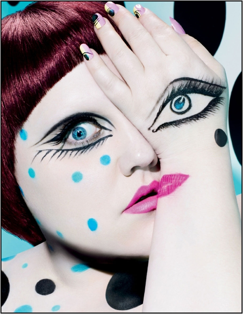 MAC for Beth Ditto Collection is bold and beautiful