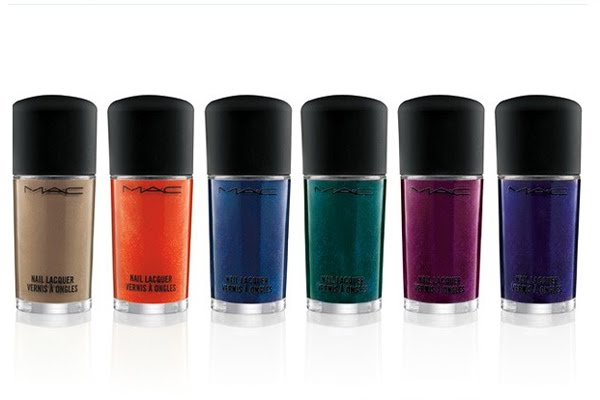 MAC all set to dominate the world of Nail Colors with 65 new nail shades